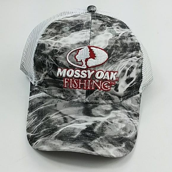 Mossy Oak men s OS Fishing Hat Mesh Snapback PP14 ec9b00b769b